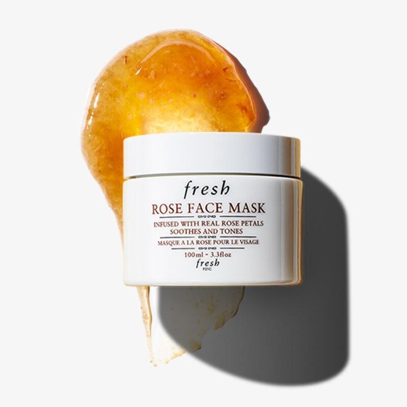 """<h2>Exfoliate Less, But Mask More</h2><br>Don't stop exfoliating in the fall — cell turnover is important — but you might be able to cut back a little. If you're currently exfoliating with a gentle scrub or peel three times a week, maybe pull it back to once or twice, Vargas recommends. """"I would also incorporate a soothing mask into your routine, like something that has stem cells or peptides,"""" she says. """"You could do a mask twice a week and just exfoliate once.""""<br><br><strong>Fresh</strong> Rose Face Mask, $, available at <a href=""""https://go.skimresources.com/?id=30283X879131&url=https%3A%2F%2Fwww.sephora.com%2Fproduct%2Frose-face-mask-P12336"""" rel=""""nofollow noopener"""" target=""""_blank"""" data-ylk=""""slk:Sephora"""" class=""""link rapid-noclick-resp"""">Sephora</a>"""