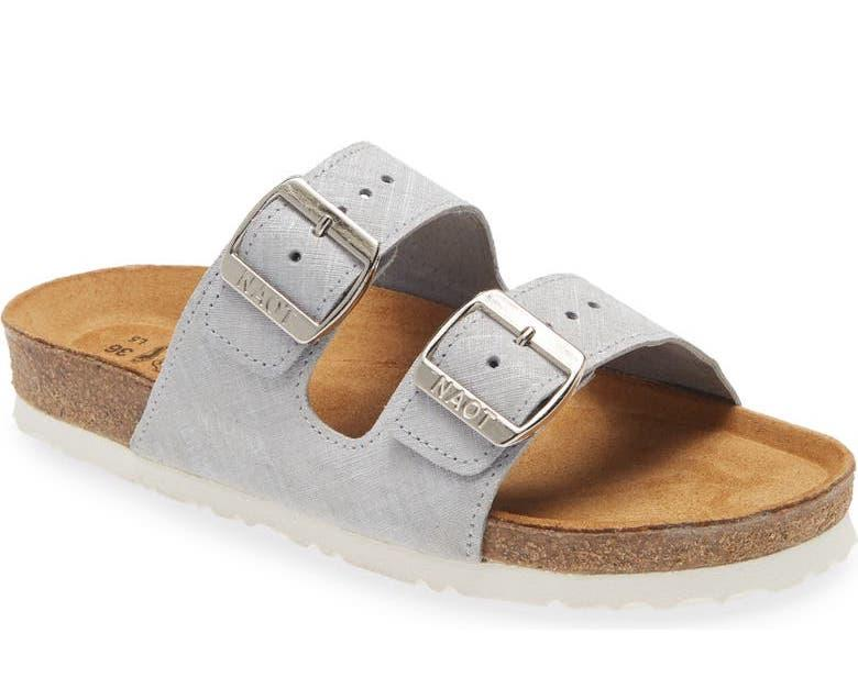 Women's Santa Barbara Water Repellent Slide Sandal. Image via Nordstrom.