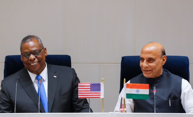 U.S. Secretary of Defense Lloyd Austin visits New Delhi