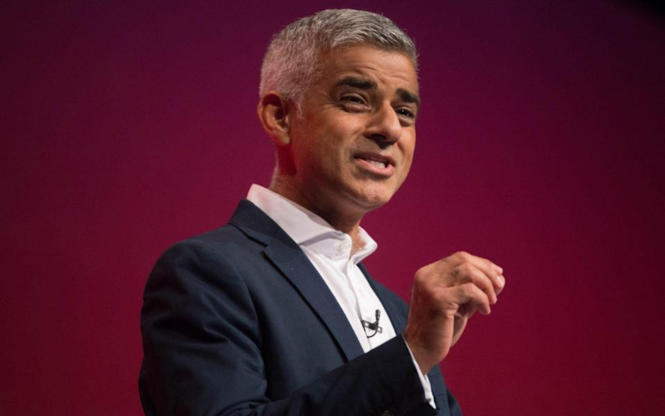 Mayor of London Sadiq Khan talks candidly of his struggles with loneliness and his mental health over the coronavirus lockdown - Stefan Rousseau/PA