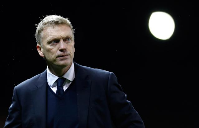 STOKE-ON-TRENT, ENGLAND - DECEMBER 15: Manager David Moyes of Everton at full time of the Barclays Premier League match between Stoke City and Everton at the Britannia Stadium on December 15, 2012, in Stoke-on-Trent, England. (Photo by Paul Thomas/Getty Images)