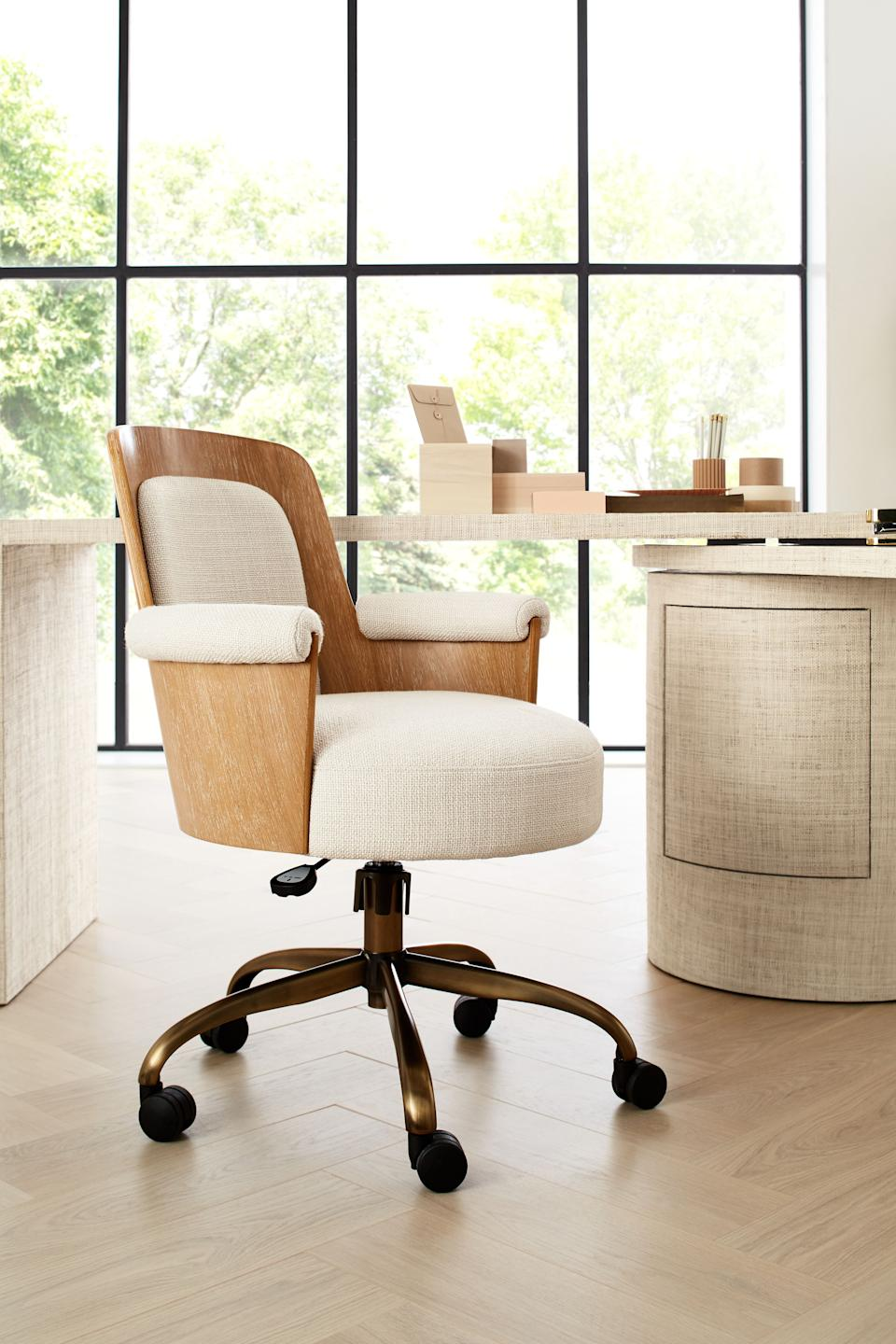 Roan Wood Office Chair