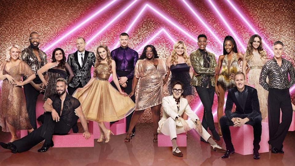 The cast of Strictly Come Dancing for 2021