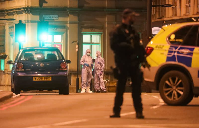 Man shot dead by British police wanted girlfriend to behead her parents