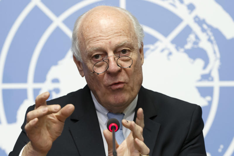 Syria peace talks restart in Geneva