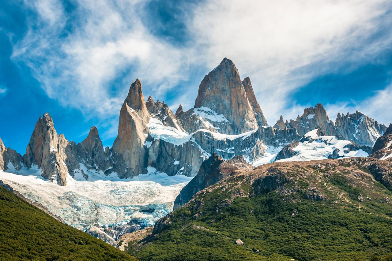 """<p>Snow-topped mountain peaks. Turquoise lakes. Wild tundra, treeless plains, and sprawling ice fields. If you're an adventurer looking for a country with a seemingly endless rotation of landscapes, Argentina may be your best bet. The South American nation is also great for <a href=""""https://www.cntraveler.com/story/complete-guide-to-family-travel?mbid=synd_yahoo_rss"""">family travel</a>, and <a href=""""https://www.cntraveler.com/story/travel-specialists-we-trust?mbid=synd_yahoo_rss""""><em>Traveler</em>'s top specialists</a> can help design a trip suitable for all ages.</p> <p><strong>Adventures to try:</strong> Fly-fishing in Patagonia; riding horses on <em>estancias</em>; learning to ski on <a href=""""https://www.cntraveler.com/story/learn-to-cook-tango-ski-francis-mallmann-private-island?mbid=synd_yahoo_rss"""" target=""""_blank"""">Francis Mallmann's private island</a>.</p>"""