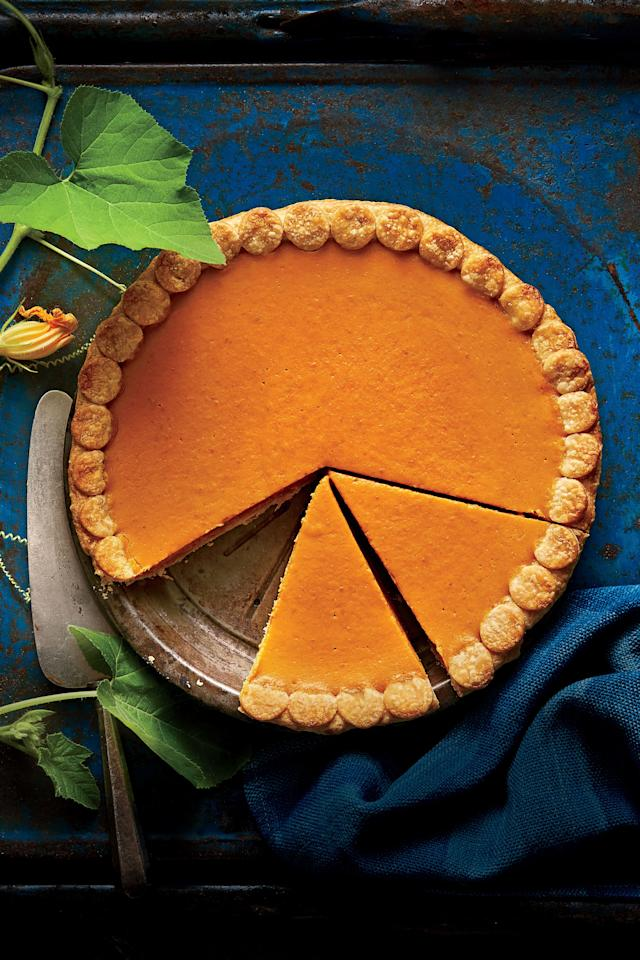 """<p><strong>Recipe: <a href=""""https://www.southernliving.com/recipes/easy-pumpkin-pie"""">Our Easiest Pumpkin Pie Ever</a></strong></p> <p>First thing's first: Master the classic. If you've never tried our easiest-ever pumpkin pie recipe, it's time. After you've finished, keep scrolling. </p>"""