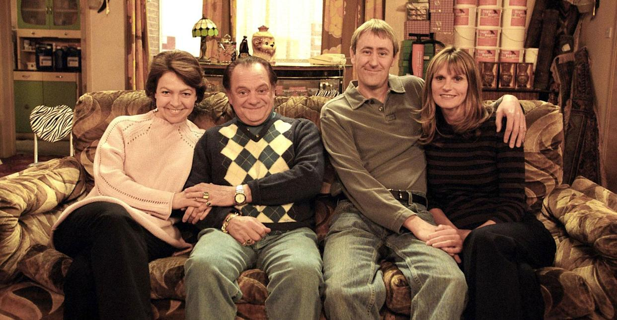 The original cast of Only Fools and Horses (PA Images).