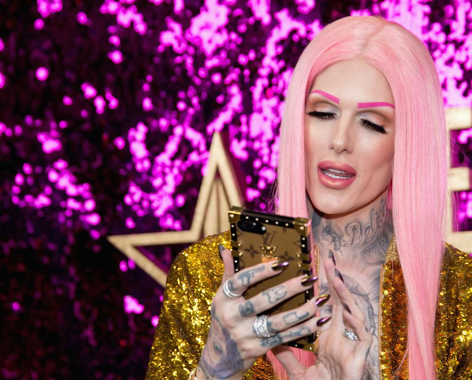 LOS ANGELES, CA - APRIL 29:  Jeffree Star attends the 3rd Annual RuPaul's DragCon at Los Angeles Convention Center on April 29, 2017 in Los Angeles, California.  (Photo by Tara Ziemba/Getty Images)
