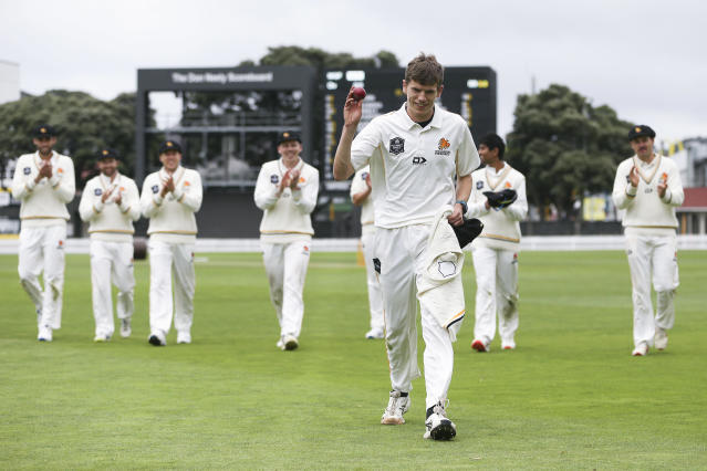 Wellington named the 2019-20 champions after the final two rounds of New Zealand's domestic first-class competition the Plunket Shield was called off due to the coronavirus pandemic.