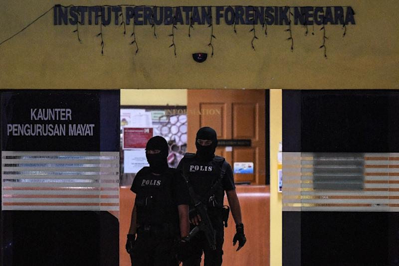 Malaysian authorities have refused to hand over the body of Kim Jong-Nam, until a family DNA sample is provided by North Korea (AFP Photo/MOHD RASFAN)