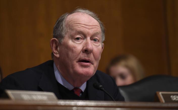 FILE - In this Jan. 12, 2016 file photo, Senate Health, Education, Labor and Pensions Committee Chairman Sen. Lamar Alexander, R-Tenn. speaks on Capitol Hill in Washington. A bipartisan Senate effort to continue federal payments to insurers and avert a costly rattling of insurance markets faces a dicey future, underscoring that last week's wreck of the Republican drive to repeal the Obama health care law hasn't eased the issue's fraught politics. (AP Photo/Susan Walsh, File)