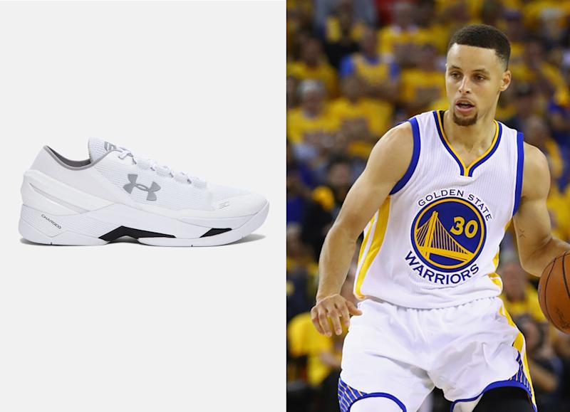 ee22e1d4b626 The story behind Steph Curry s all-white  dad shoes  that blew up the  internet