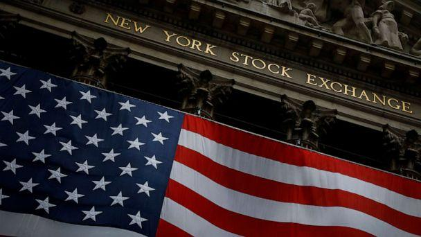 PHOTO: The New York Stock Exchange is seen in the financial district of lower Manhattan during the outbreak of the coronavirus disease in New York, April 13, 2020. (Andrew Kelly/Reuters, FILE)