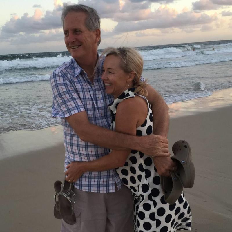 Tim and Julie Hudson have been identified as the Brisbane couple who is presumed dead in a plane crash. Source: Facebook