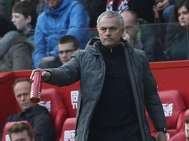 Jose Mourinho watched his team eventually overcome Middlesbrough: Getty