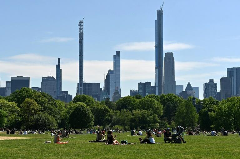 """The """"homecoming"""" concert in New York will take place in Central Park, seen here"""
