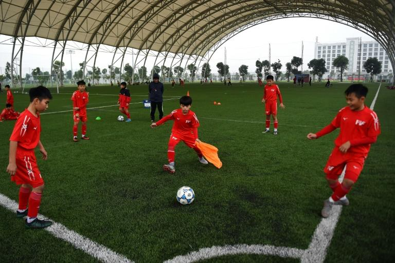 Qualifying for the 2022 World Cup may be a stretch for Vietnam (AFP Photo/Nhac NGUYEN)