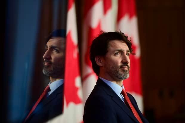 Prime Minister Justin Trudeau holds a press conference during the COVID-19 pandemic in Ottawa on Tuesday, March 30, 2021.  (Sean Kilpatrick/The Canadian Press - image credit)