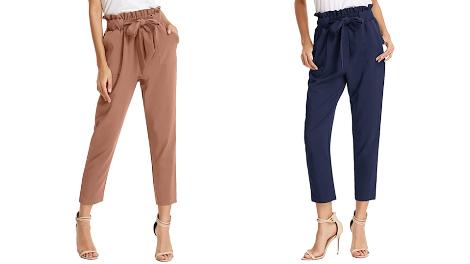 These pants are a fantastic alternative to jeans in the fall.