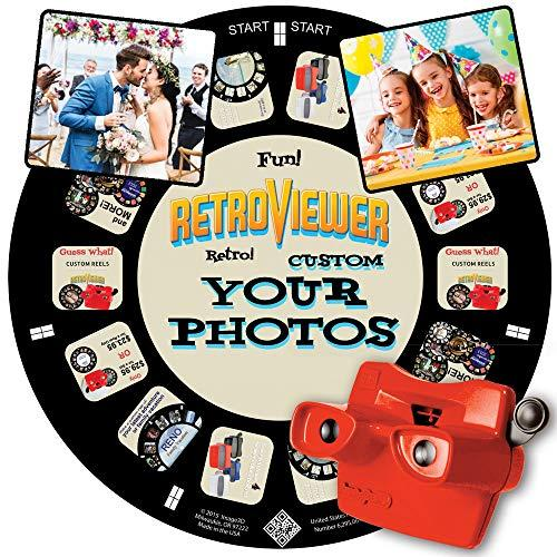 Image3D Custom Viewfinder Reel Plus Red RetroViewer - Viewfinder for Kids, & Adults, Classic Toys, Slide Viewer, Discovery Toys, Retro Toys, Vintage Toys, May Work in Old Viewfinder Toys with Reels (Amazon / Amazon)