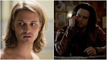 "<p>First, check out the sinister goatee on Nathan Parsons. Second, Luke Grimes reportedly left the show because he wasn't comfortable playing a gay character, which is supremely disappointing. Sources <a href=""https://www.buzzfeed.com/louispeitzman/luke-grimes-left-true-blood-because-he-refused-to-play-gay?utm_term=.mcWZ4X6EW#.cxLD9gPqw"" rel=""nofollow noopener"" target=""_blank"" data-ylk=""slk:say"" class=""link rapid-noclick-resp"">say</a> writers and cast members were ""baffled and angered"" by the decision. </p>"