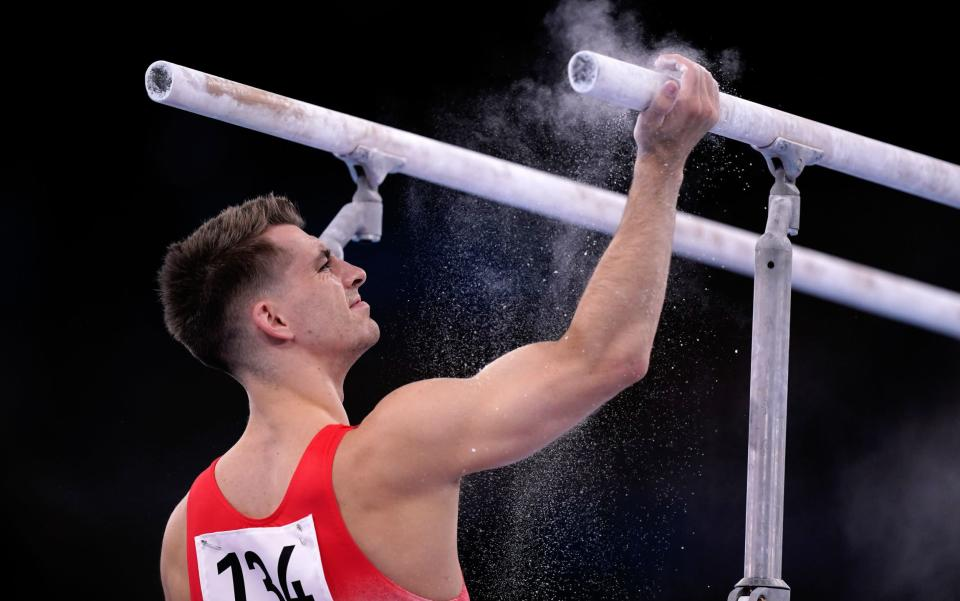 Max Whitlock in practice - PA