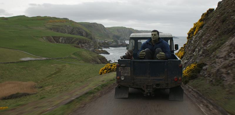 The final version of Smart Hulk's ride to New Asgard (Photo: Marvel)