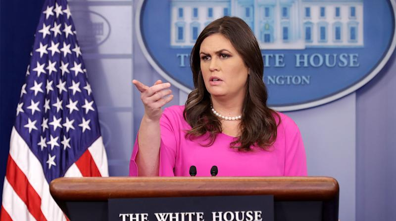 White House Press Secretary: Indicted Campaign Members Had 'Nothing To Do With' Trump