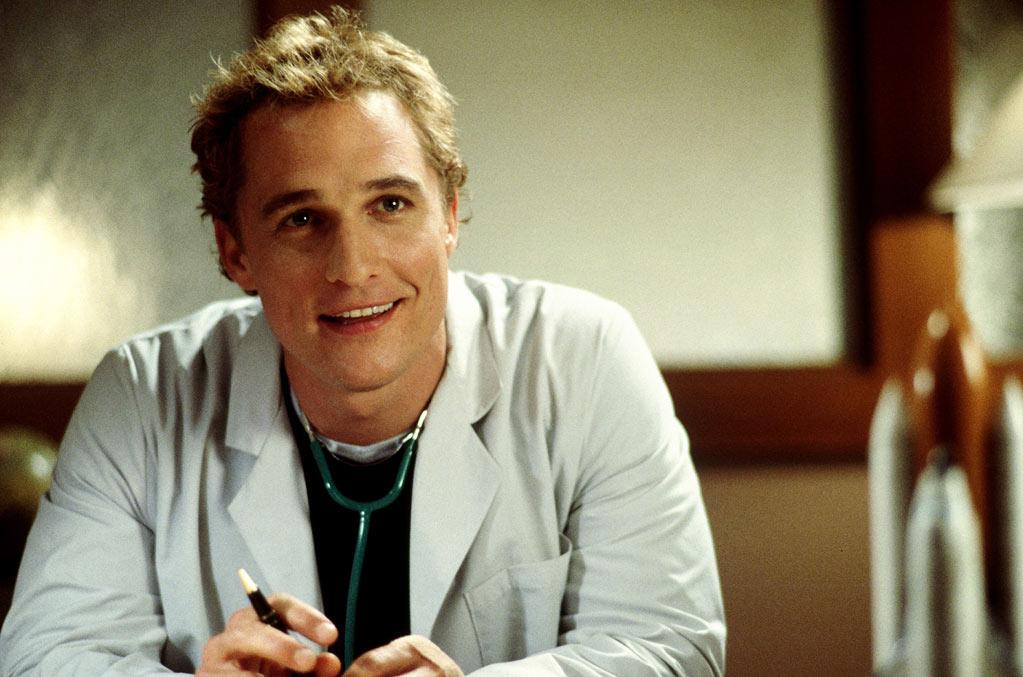 """<a href=""""http://movies.yahoo.com/movie/1804318786/info"""">THE WEDDING PLANNER</a> (2001)  For his first -- but certainly not last -- foray into the world of romantic comedies, his hair was short, messy, and even blonder than usual."""