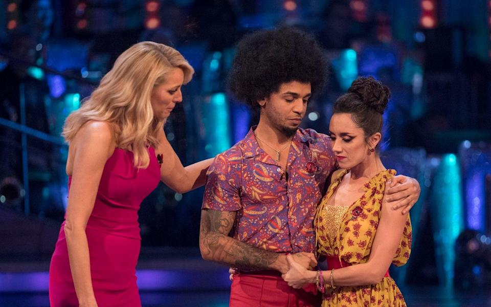 Strictly's Aston was once favourite to win the competition