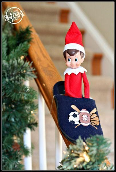 """<p>Whee! Elves deserve sledding adventures too, you know.</p><p><strong>Get the tutorial at <a href=""""https://www.busykidshappymom.org/meet-our-elf-franklin/"""" rel=""""nofollow noopener"""" target=""""_blank"""" data-ylk=""""slk:Busy Kids Happy Mom"""" class=""""link rapid-noclick-resp"""">Busy Kids Happy Mom</a>.</strong></p><p><strong><a class=""""link rapid-noclick-resp"""" href=""""https://www.amazon.com/Best-Sellers-Sports-Outdoors-Fan-Slippers/zgbs/sporting-goods/2309435011?tag=syn-yahoo-20&ascsubtag=%5Bartid%7C10050.g.22690552%5Bsrc%7Cyahoo-us"""" rel=""""nofollow noopener"""" target=""""_blank"""" data-ylk=""""slk:SHOP SLIPPERS"""">SHOP SLIPPERS</a><br></strong></p>"""