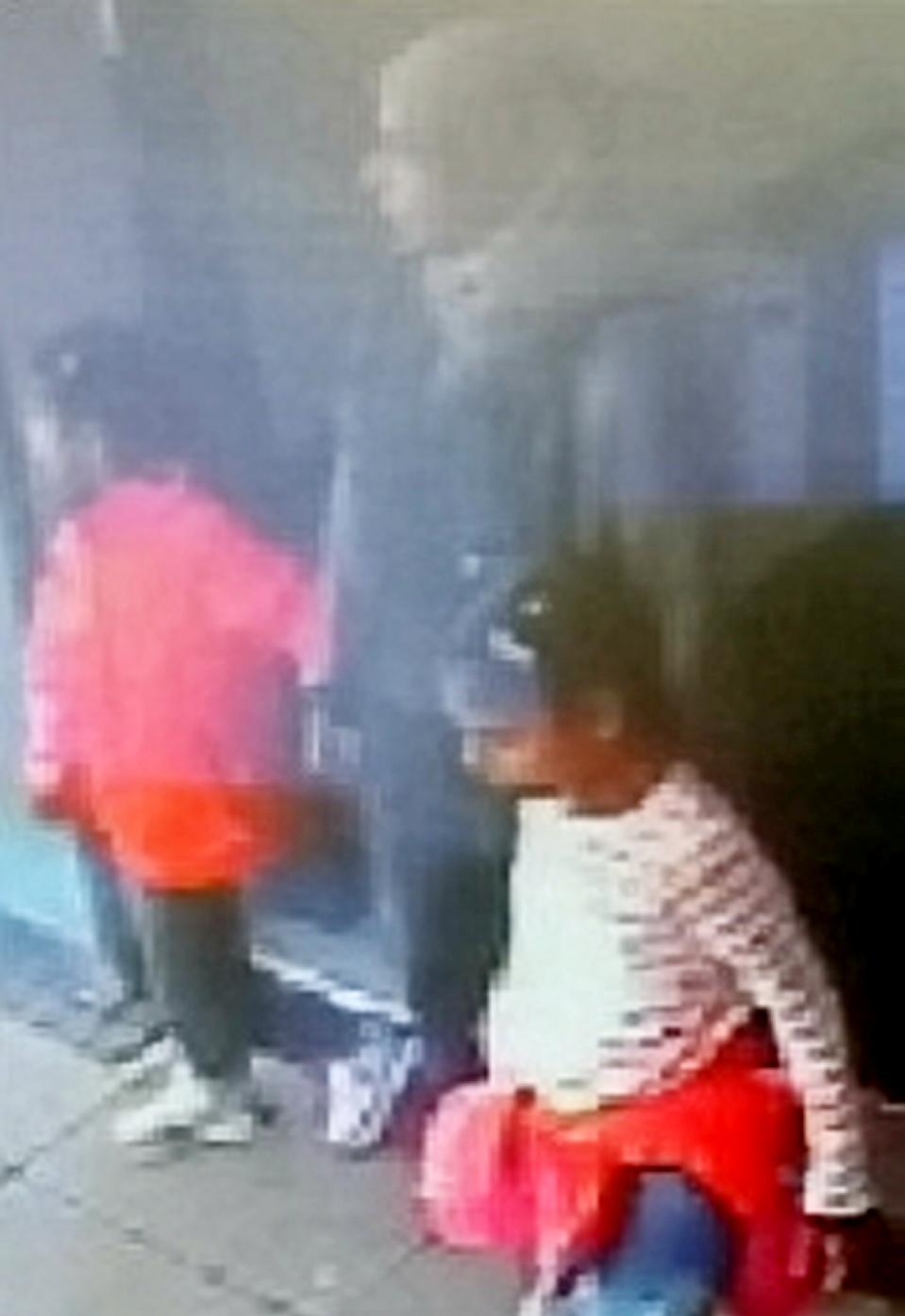 The pregnant mother and her two daughters, aged six and eight, were last seen on Tuesday, September 10 (Picture: SWNS)