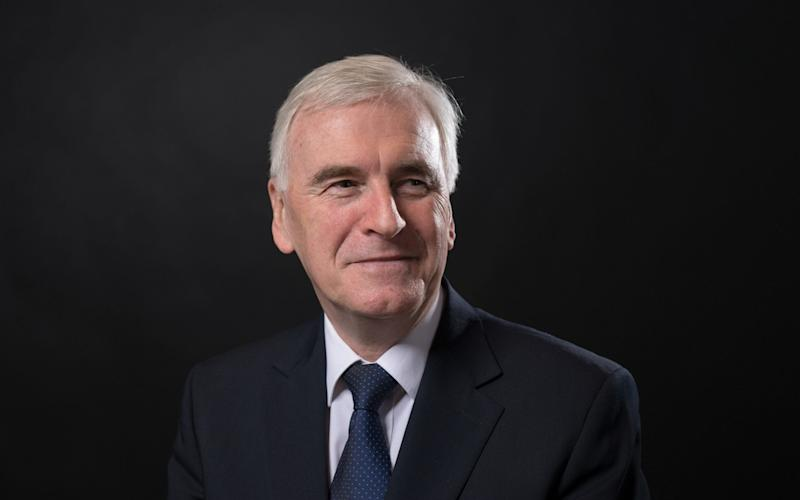 Shadow chancellor John McDonnell admitted there were some Labour policies bankers wouldn't like  - Bloomberg