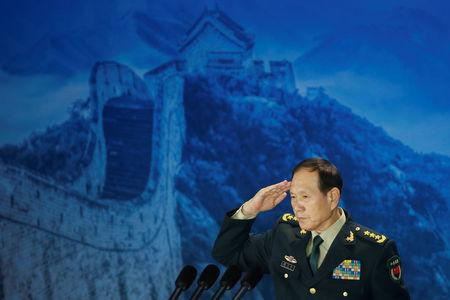 China says military will act