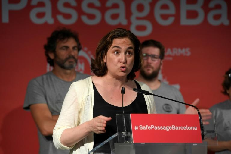 If he runs for mayor of Barcelona, Valls will face a challenge from the current holder Ada Colau