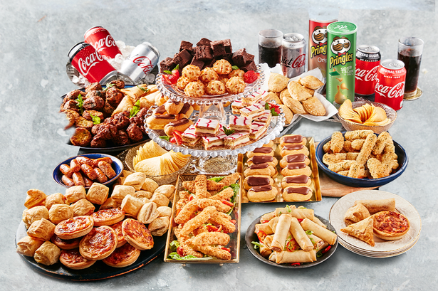 The party bundle serves 15 people for £15. [Photo: Iceland]