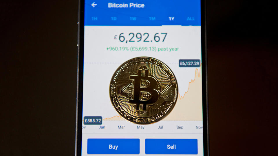Coinbase, one of the world's largest cryptocurrency exchanges, was iPhone's number 1 app in December.
