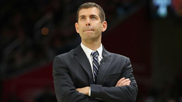 "The Celtics and Cavaliers now face a best-of-three battle to reach the NBA Finals and Brad Stevens said: ""It doesn't get better than that."""