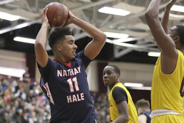 Jontay Porter will likely reclassify and join elder brother Michael at Missouri next season. (AP)
