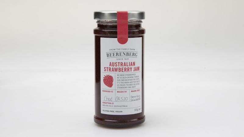 Beerenberg Australia Strawberry Jam took out first place in Choice's tasting. Photo: Supplied