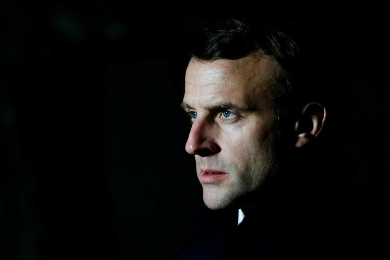 Macron told EU leaders 'survival of European project' at stake in virus crisis