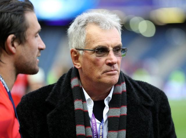 Nigel Wray (right) is the former chairman of Saracens