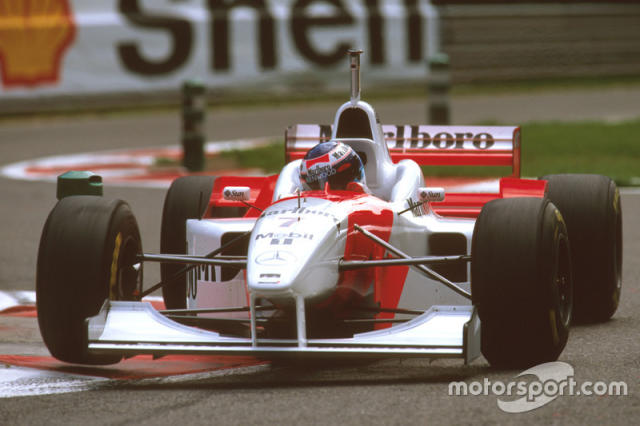 "1996: McLaren-Mercedes MP4/11B <span class=""copyright"">LAT Images</span>"