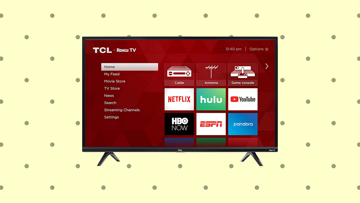 Save on this TCL 40-inch HD Roku Smart LED TV (40S325). (Photo: TCL)
