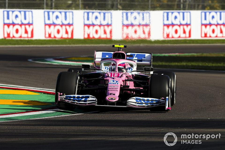 "Lance Stroll, Racing Point RP20<span class=""copyright"">Charles Coates / Motorsport Images</span>"