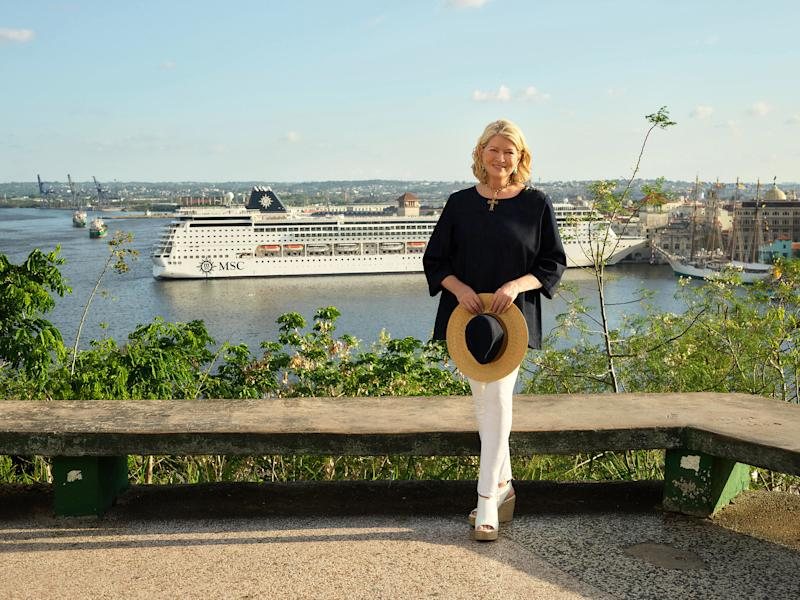 MSC Cruises and Martha Stewart will work together to curate new onboard and offshore itineraries.