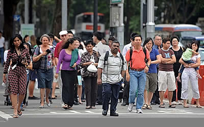 PM Lee says foreigners help create more jobs for Singaporeans. (AFP file photo)