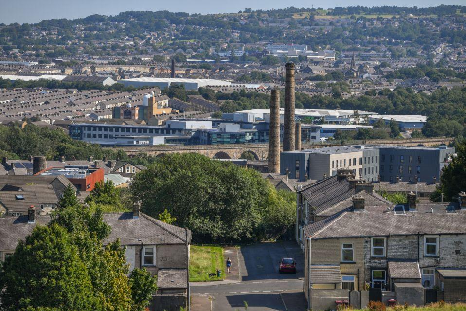 A general view of Burnley. The proportion of homes flipped in England and Wales has soared back to levels not seen since 2008, Hamptons International revealed. Photo: Anthony Devlin/Getty Images