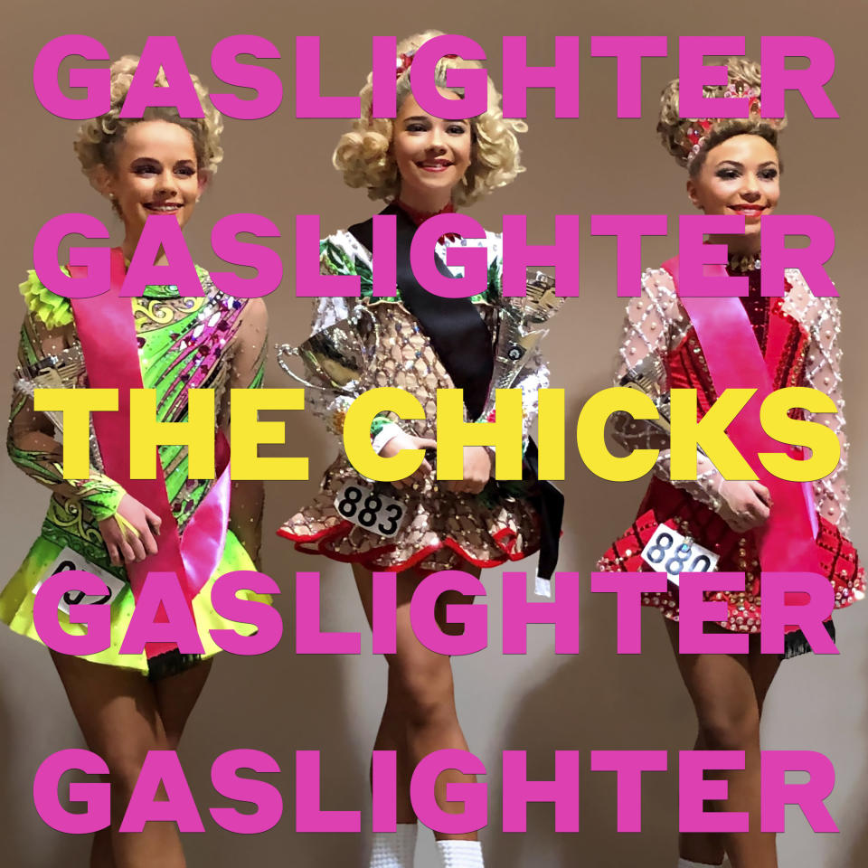 """This cover image released by Columbia Records shows """"Gaslighter"""" by The Chicks. (Columbia via AP)"""